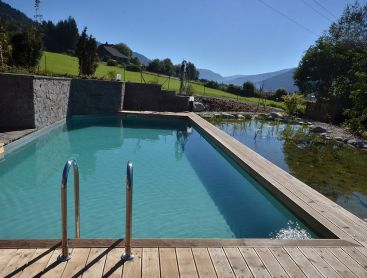 Living Pool in Austria for Organic Winegrowers